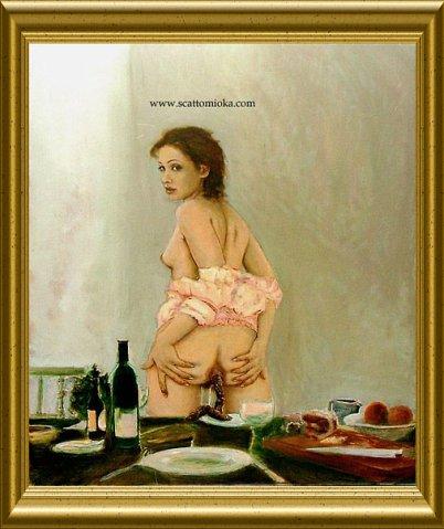 Современная порнографическая живопись